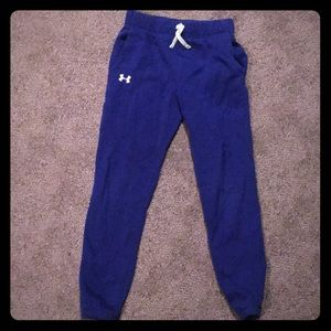 Girls under armour sweats. Royal blue 💙